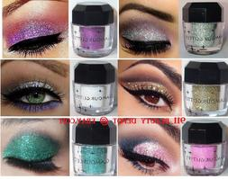 diamond palette loose pigment waterproof shimmer glitter