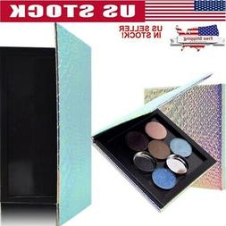 DIY Fish Scale Empty Eye Shadow Magnet Box Makeup Storager P