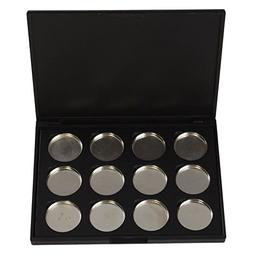 Empty Magnetic Eye Shadow Case Cosmetics Organizer Container