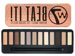 W7 Eye Shadow Palette Beat It Make Up Colour Natural Nudes