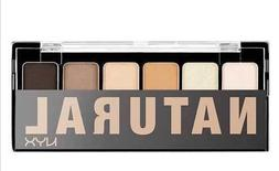 NYX the Natural Eye Shadow Palette 6 Colors