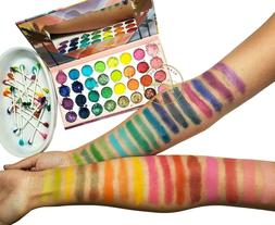 EYESHADOW PALETTE BRIGHT COLORS & HIGHLY PIGMENTED SHADES TA
