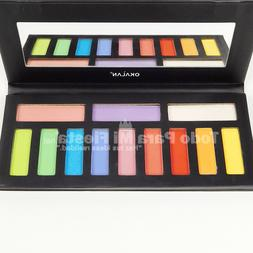 Okalan Eyeshadow Palette Bright Colors Makeup High Pigment C