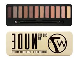 W7 Eyeshadow Palette Colour Me Nude - Matte Shimmer Natural