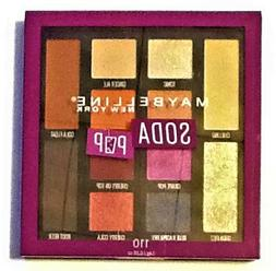 Maybelline New York Eyeshadow Palette Makeup #110 Soda Pop F