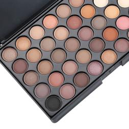 Eyeshadow Palette Makeup Cream Eye Shadow Shimmer Set 40 Col