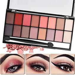 HP95 16 Colors Eyeshadow Palette Pearl Matte Eye Shadow Make