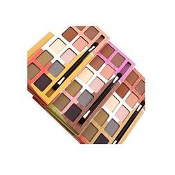 Kanzd 10 Colors Eyeshadow Palette Shiny Waterproof Glitter M
