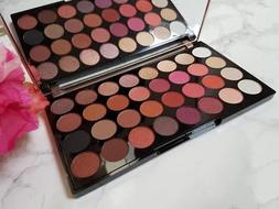 MAKEUP REVOLUTION - FLAWLESS 4 EYESHADOW PALETTE Warm Red Go