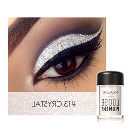Kanzd Focallure 12 Colors Shimmer Eye Shadow Makeup Pearl Me