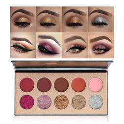 Beauty Glazed Glitz Glam Glitter Eyeshadow Palette New