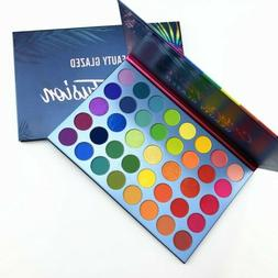 Beauty Glazed High Pigmented Makeup Rainbow Palette Color Fu