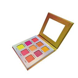 Highly Pigmented Eyeshadow Palette,YMH BEAUTE 9 Bright Color