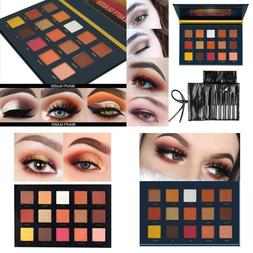 Beauty Glazed Highly Pigmented Sunset Dusk 15 Colors Eyeshad