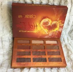 hot fire eyeshadow palette 12 colors tone