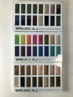 L.A. Colors 16 Color Eye Shadow Palette Choose Your Palette