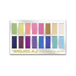 L.A. Colors 16 Color Eyeshadow Palette, Haute 1.02 oz