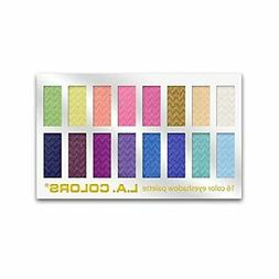 16 Color Eyeshadow Palette, Haute, 1.02 Ounce