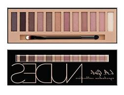 L.A. Girl Beauty Brick Eyeshadow, Nudes, 0.42 Ounce Top Qual