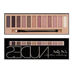 L.A Girl Brick Eyeshadow Palette Makeup Collection Nudes GES