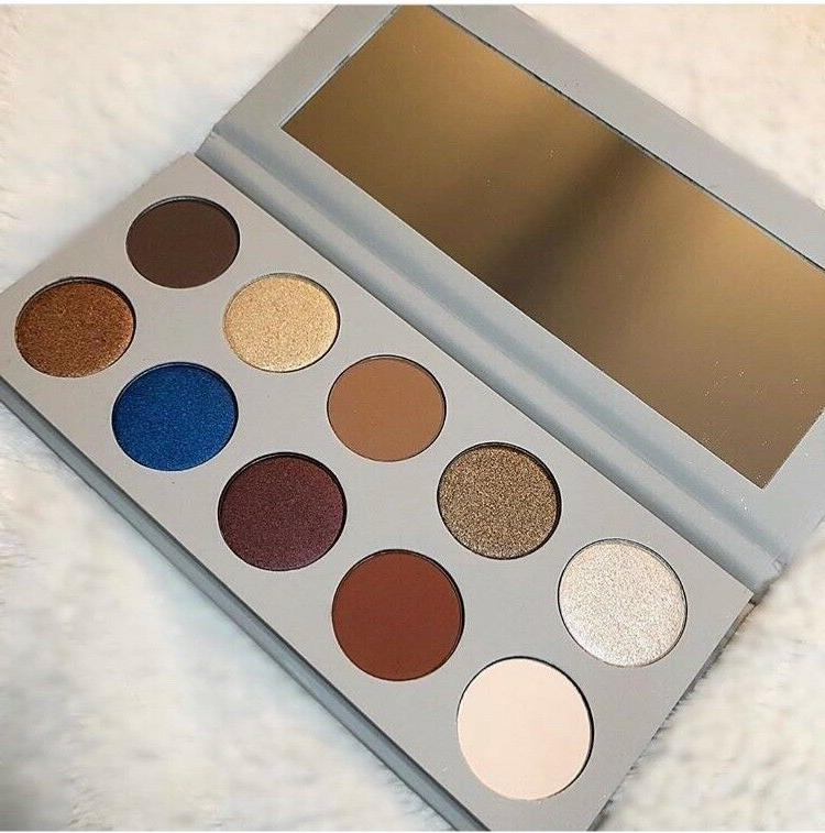 10 pan eyeshadow palette in stock limited