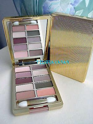 10shade gold eyeshadow palette amber honey
