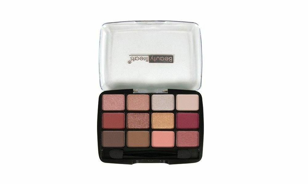 12 Color Matte Eyeshadow By Gold