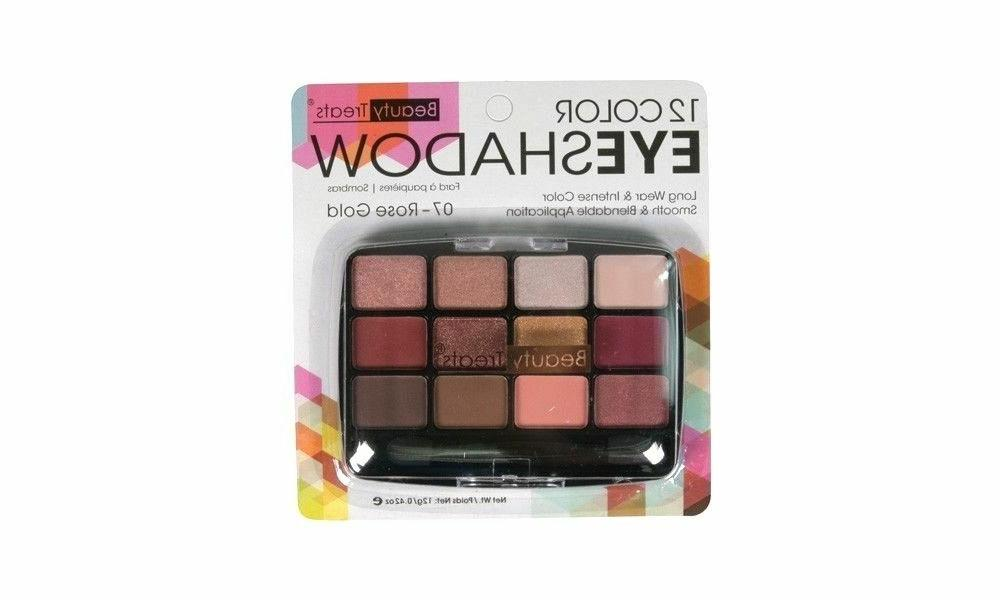 12 color matte eyeshadow by rose gold