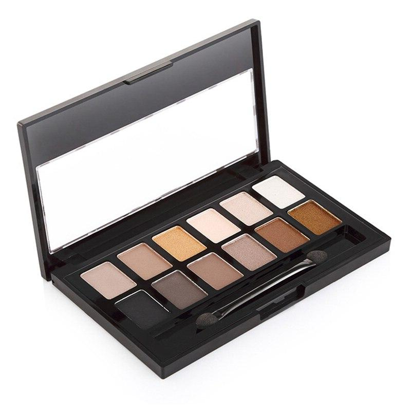 12 With Makeup Kit Smoky Shimmer Waterproof Eye Shadow WH998