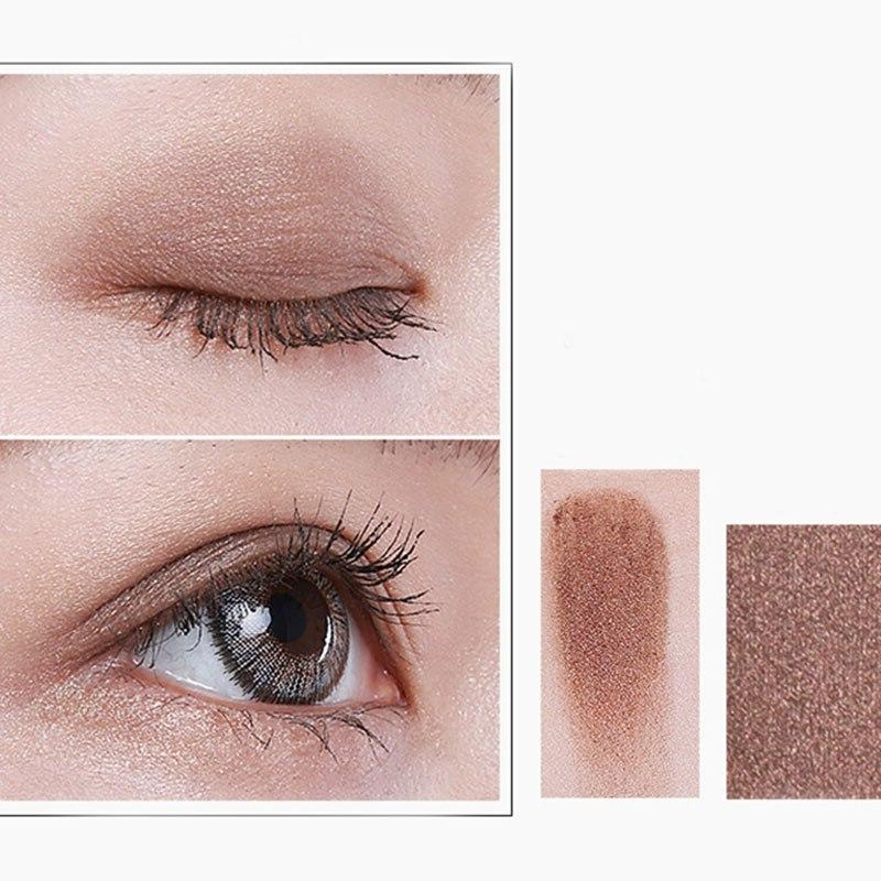 12 Colors With Smoky Shimmer Matte Waterproof Eye Shadow WH998