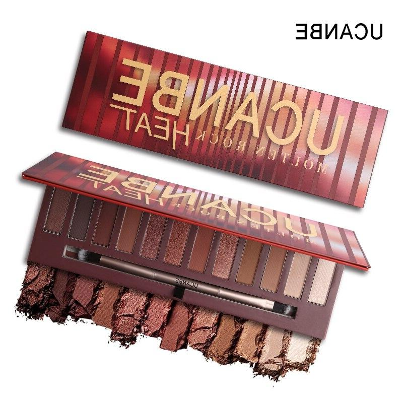 Rock Eye Makeup <font><b>Palette</b></font> Shimmer <font><b>Warm</b></font> Nude