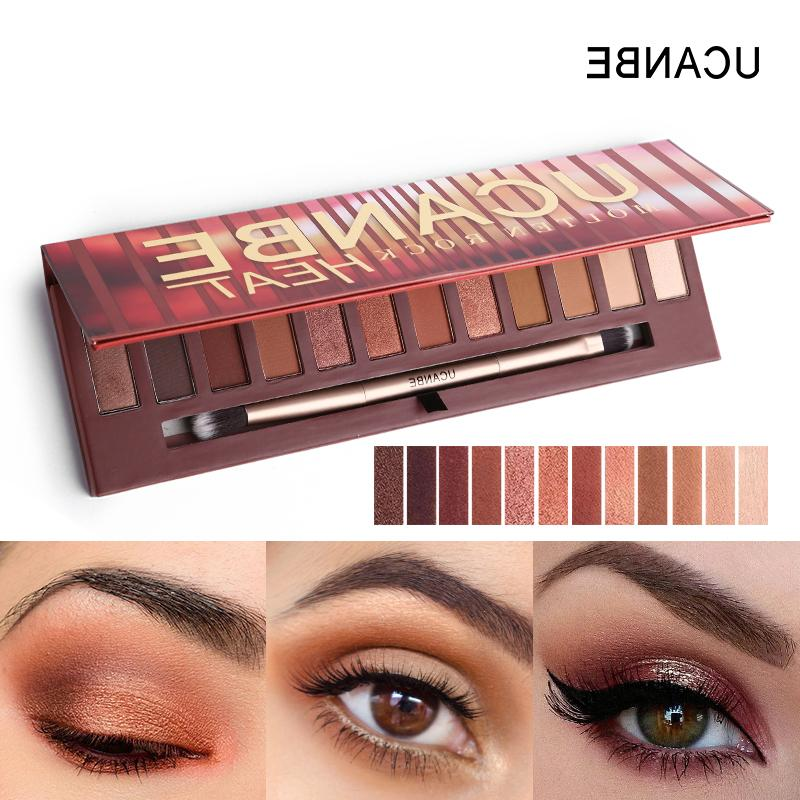 UCANBE Rock Eye Makeup Red Copper Amber-hued <font><b>Neutrals</b></font> <font><b>Warm</b></font> <font><b>Eyeshadow</b></font>