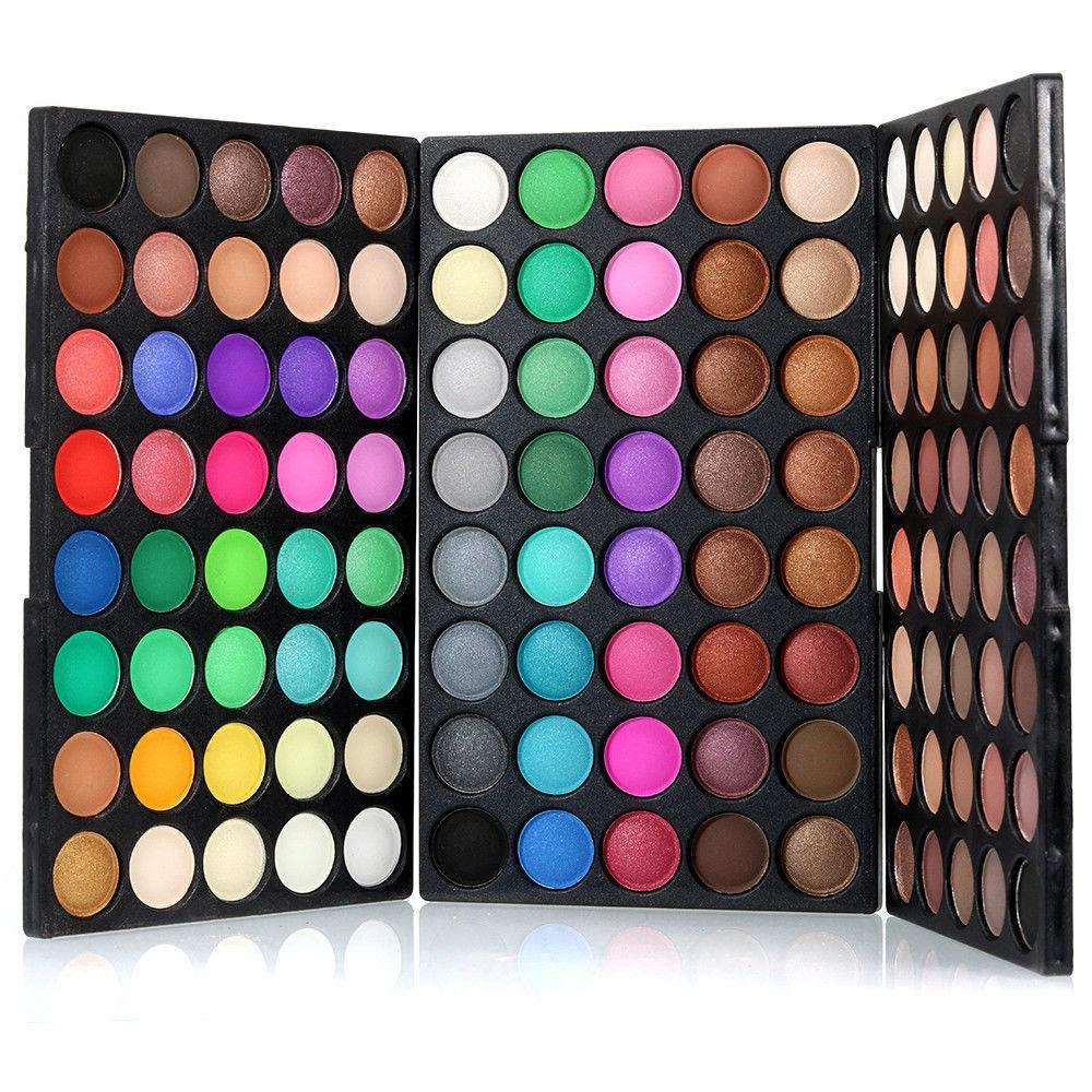 120 Colors Eyeshadow Palette Matt Available