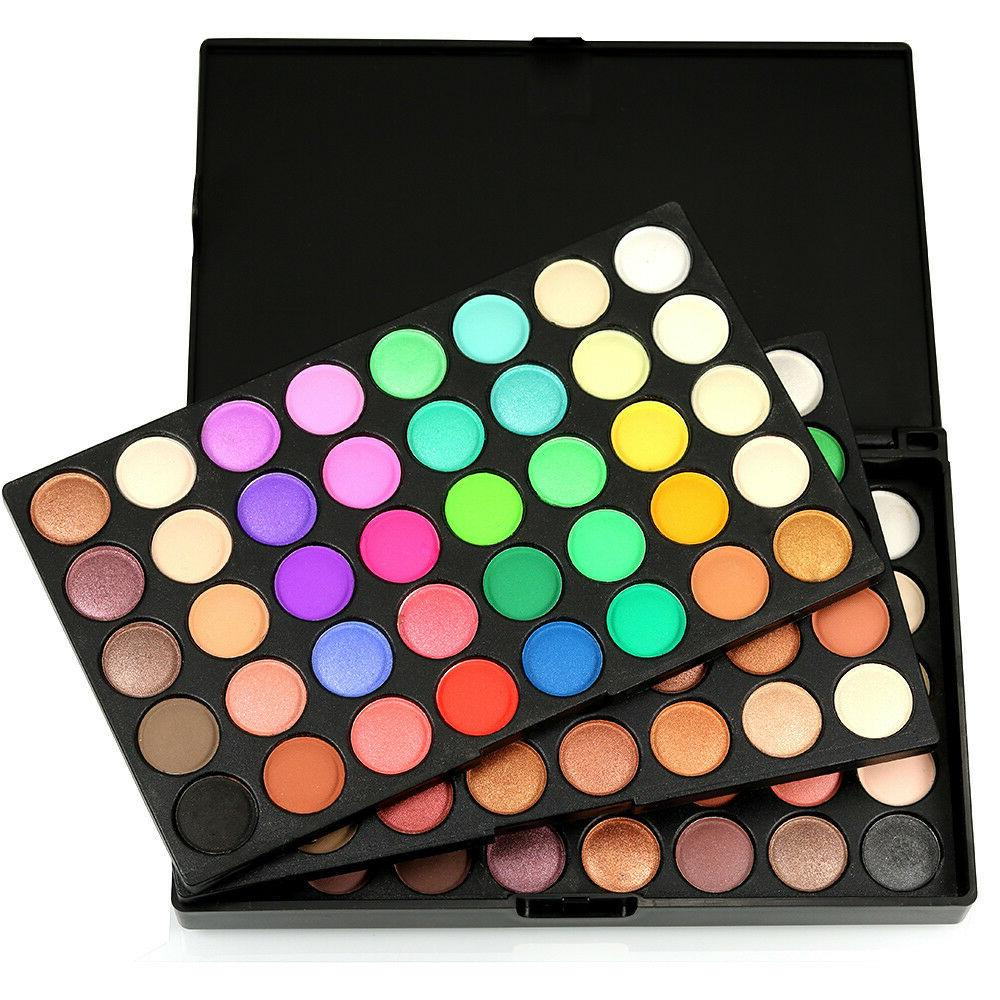 120 Colors Cosmetic Eyeshadow Palette Makeup Matt Available