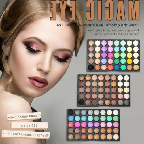 120 Matte Eyeshadow Eye Shadow Set