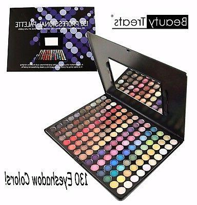 130 professional palette matte and shimmery 130
