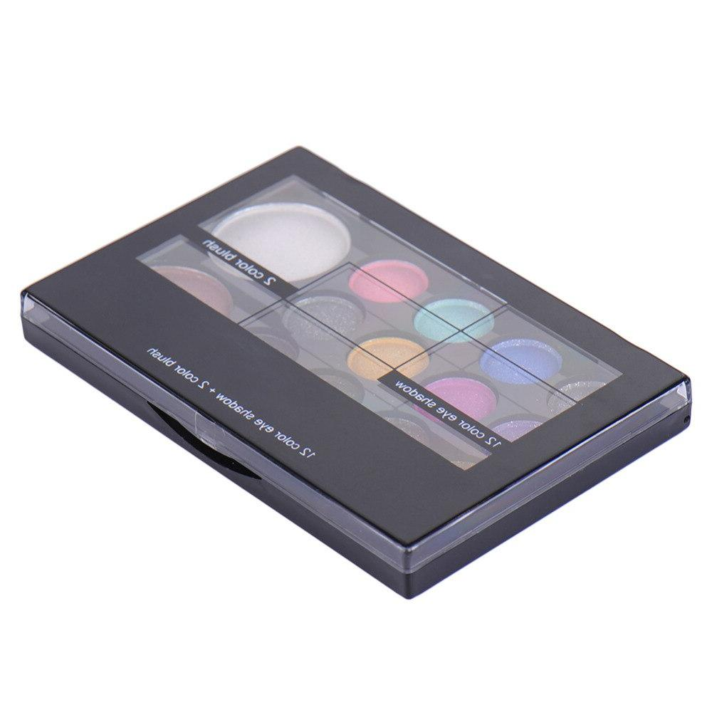 14colors/set <font><b>Neutral</b></font> <font><b>Eyeshadow</b></font> <font><b>Palette</b></font> Cosmetic With Mirror