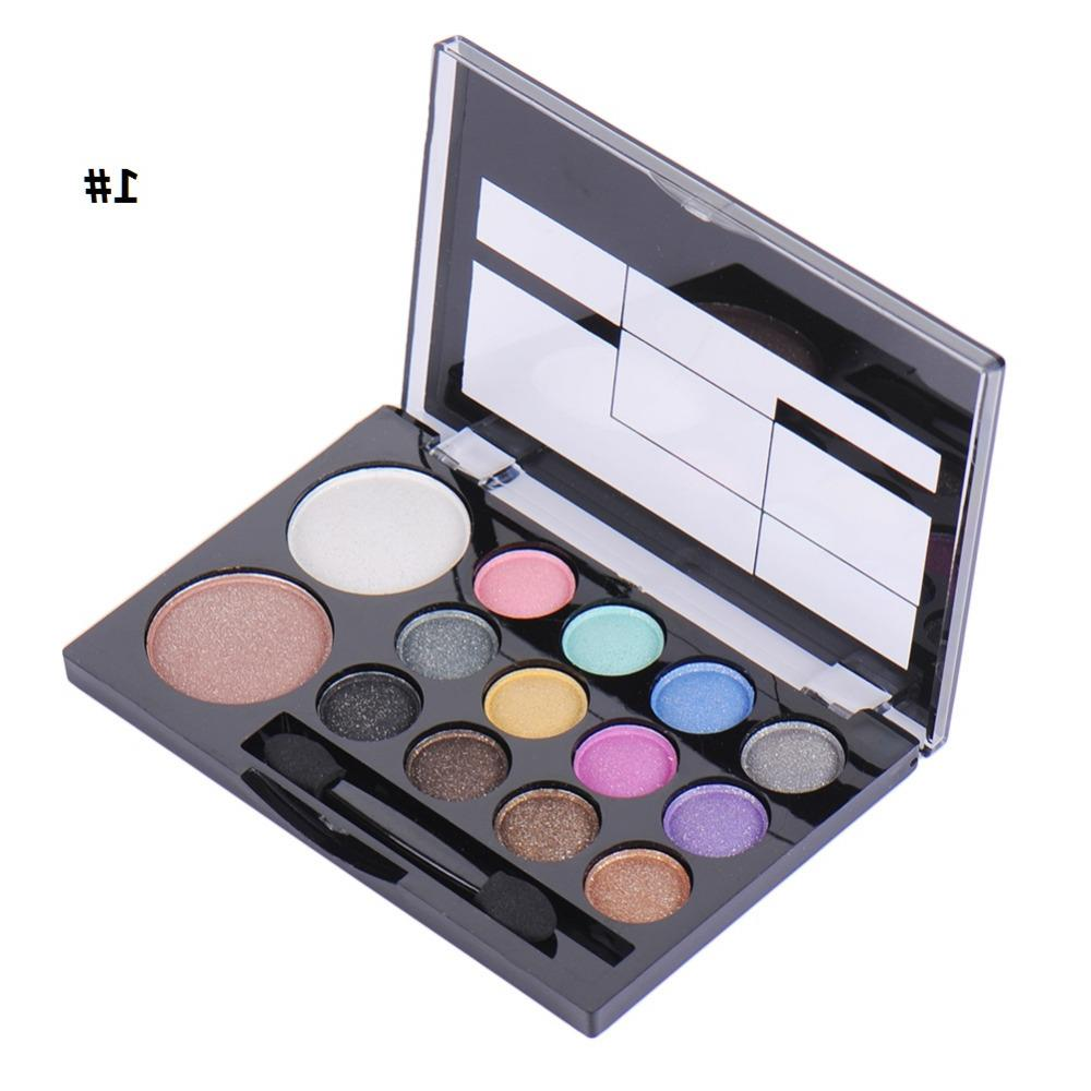 14colors/set Professional <font><b>Warm</b></font> <font><b>Neutral</b></font> <font><b>Eyeshadow</b></font> Blush <font><b>Palette</b></font> Makeup With and Mirror