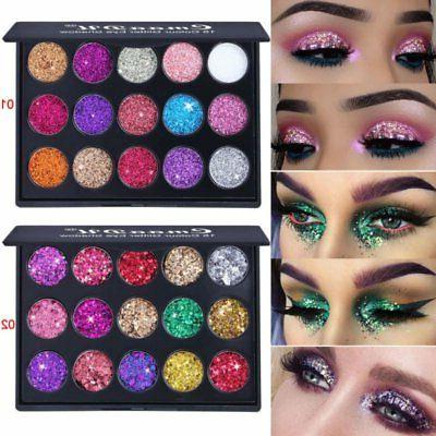 15Colors Eyeshadow Kit Shimmer Shadow Palette US
