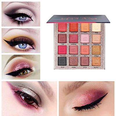 Beauty Colors Eyeshadow Palette and Matte Shimmer Highly