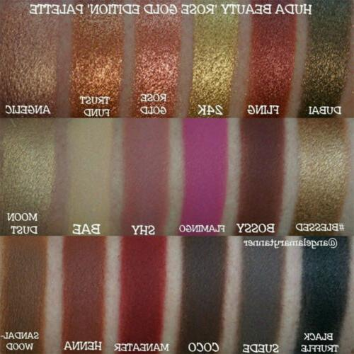 Eyeshadow Palette Matte Shimmer Glitter Set Highly Pigmented Shadow