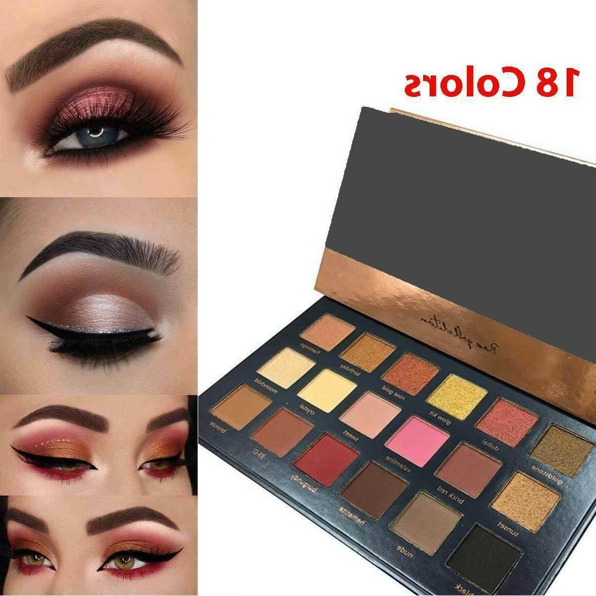 18 colors eyeshadow matte powder eye shadow