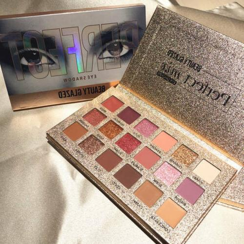 18 colors eyeshadow palette perfect eyeshadow beauty