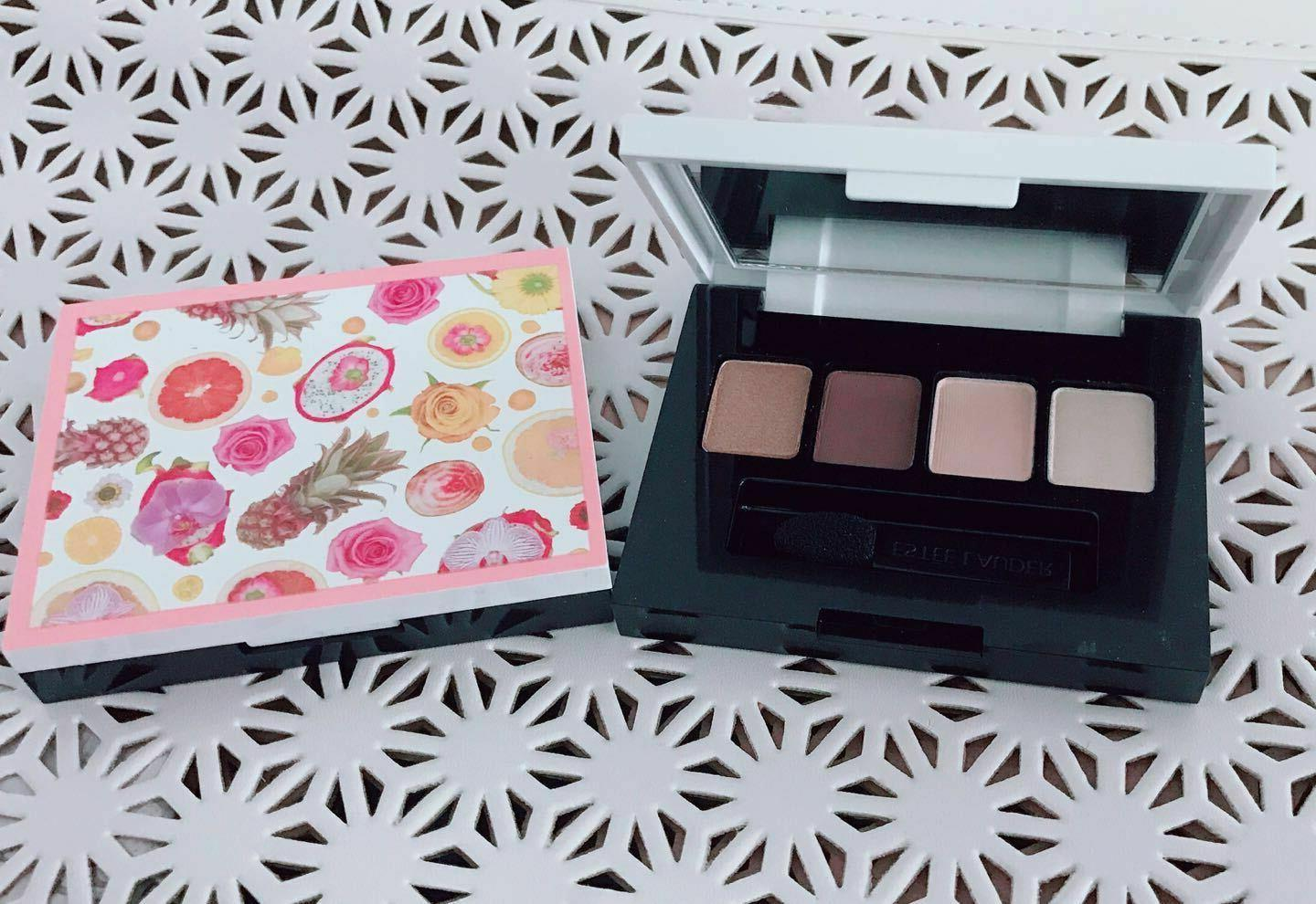 2 pure color eyeshadow palette 4 colors