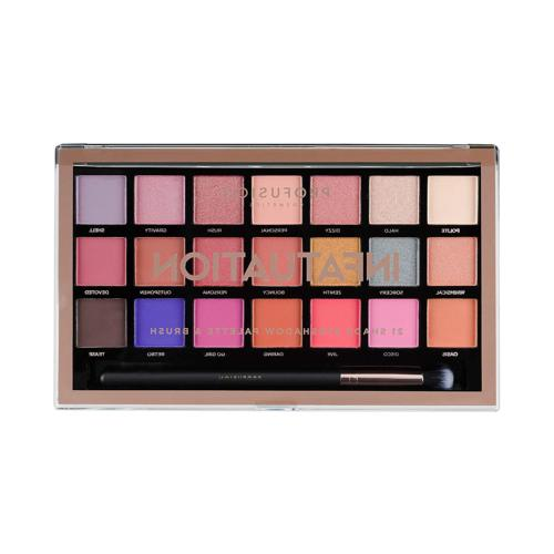 Profusion Cosmetics 21 Shade Eyeshadow Palette Collection &