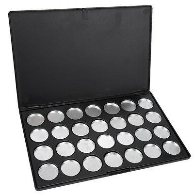 28 Pieces Refilled Eyeshadow Pans Firm Makeup Tool