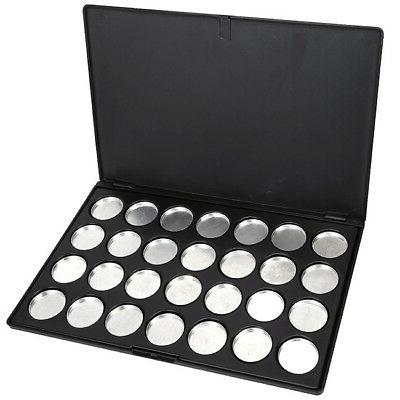 28 Pieces Eyeshadow Pans Case Tool