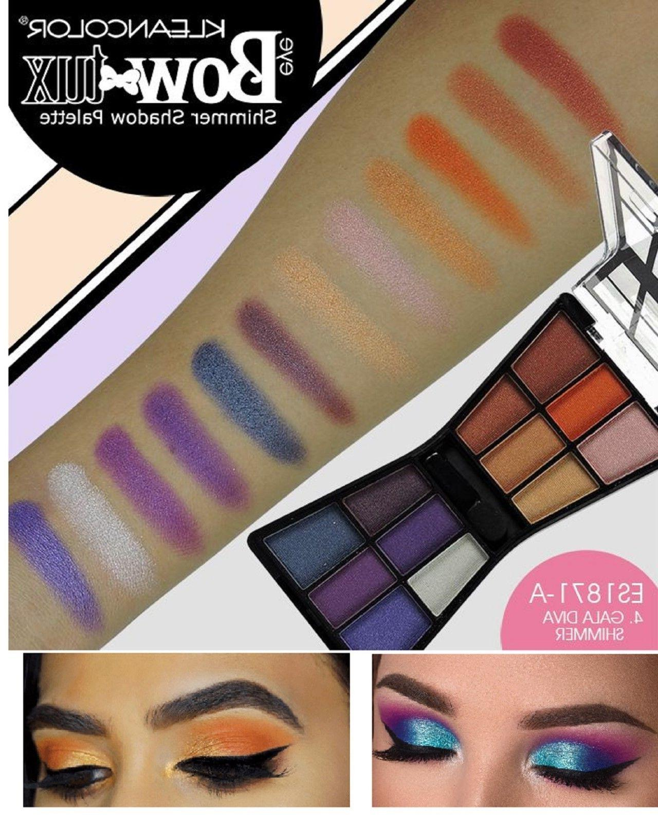 48 colors eyeshadow makeup palette shimmer matte