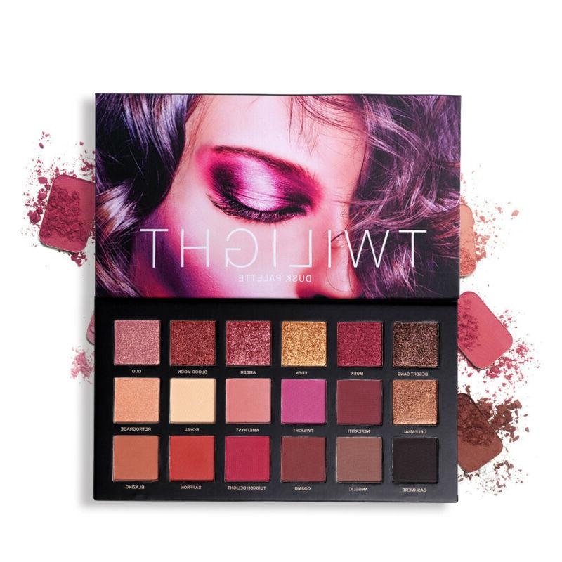 6 PC 18 Eyeshadow Palette Highlight Shadow Natural