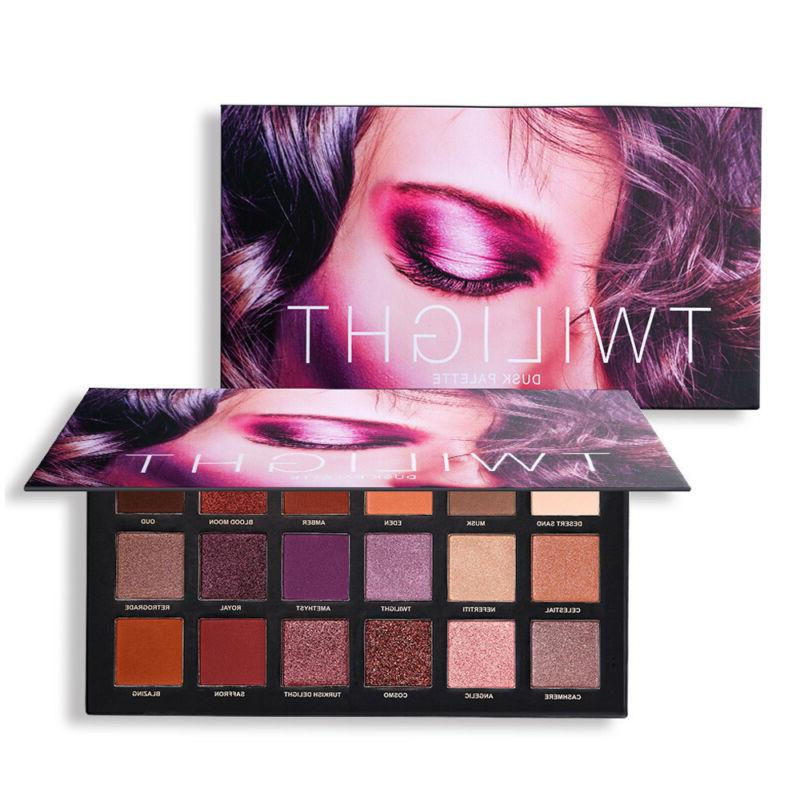6 PC 18 Color Eyeshadow Palette Highlight Eye Natural